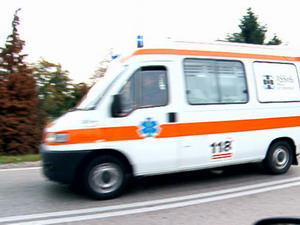 Ambulance of San Vito al Tagliamento (Pordenone) hospital