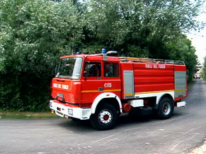 Fire Tanker of Pordenone Fire Department