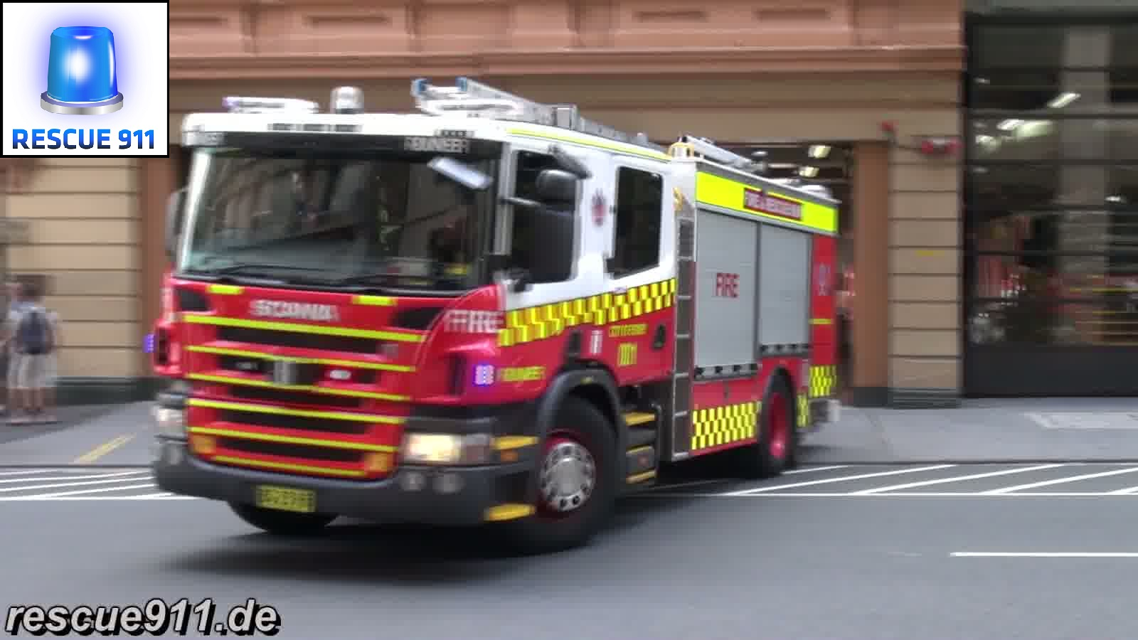 Pump Flyer 001 + Pump Runner 001 Sydney Fire & Rescue NSW (collection) (stream)