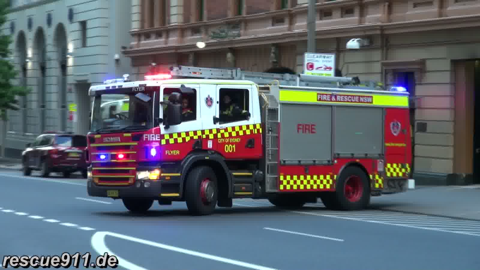 Pump Flyer 001 City of Sydney Fire & Rescue NSW (collection) (stream)