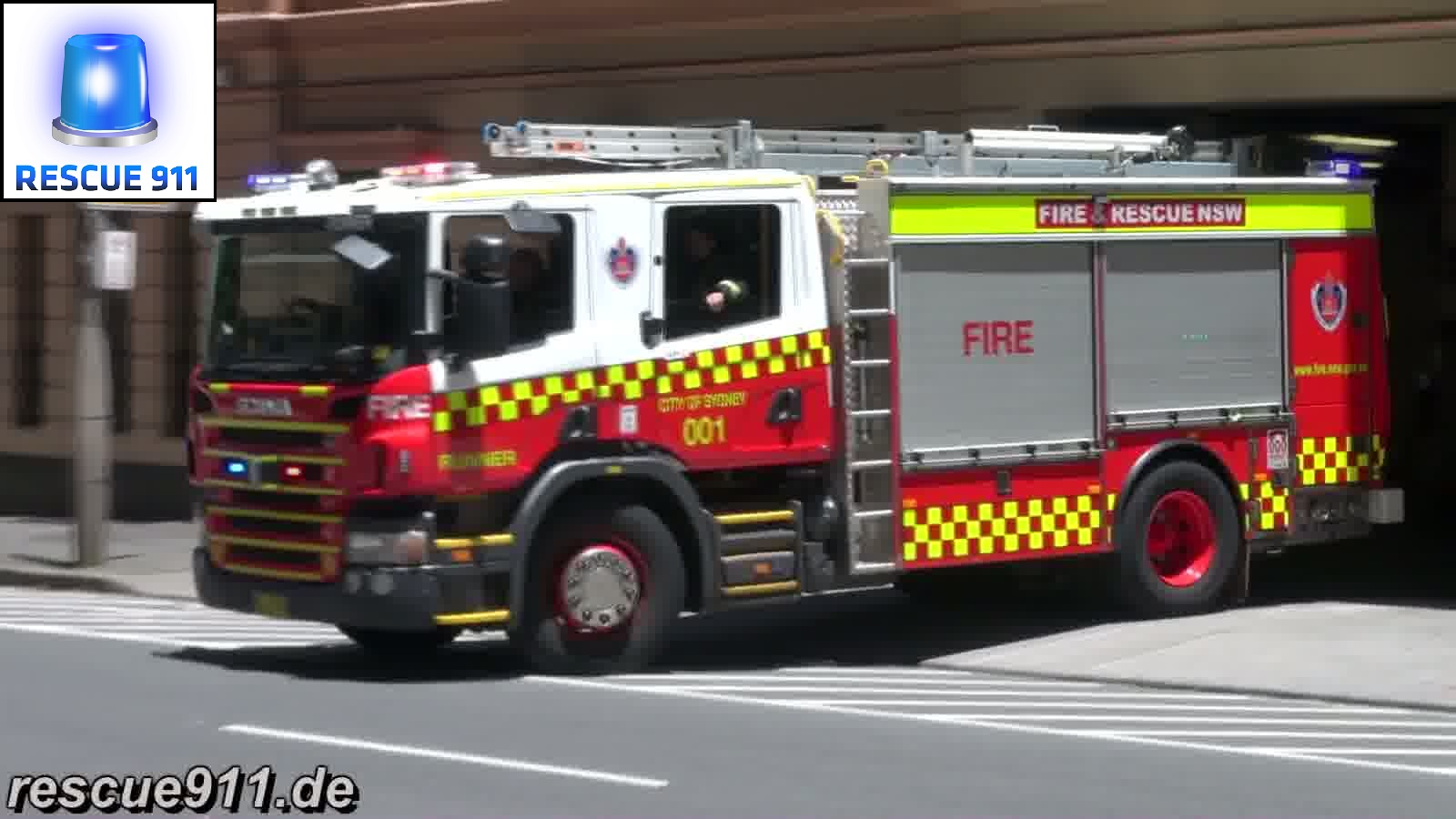 Pump Runner 001 City of Sydney Fire & Rescue NSW (stream)