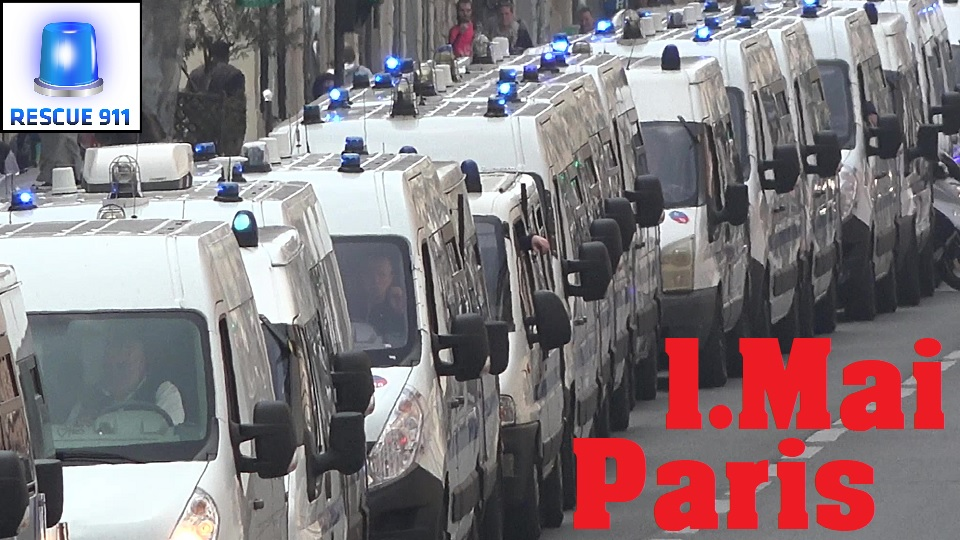 Police Nationale + Ambulance + Sapeurs Pompiers Paris (collection) (stream)
