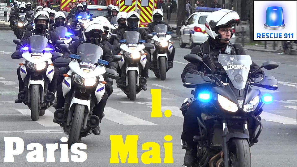 Sapeurs Pompiers + Police Nationale + Ambulance + SAMU + Protection Civile Paris (collection) (stream)