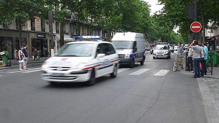 2x Convoi Transport Prisonniers + Convoi VIP Police Nationale Paris