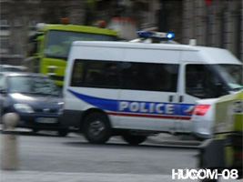 Car PS Police Nationale Paris