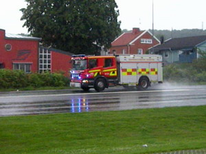 Fire department Halmstad
