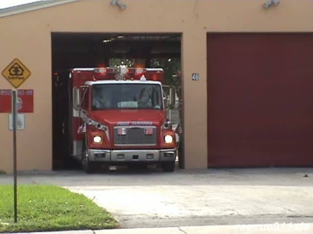 Rescue 46 Fort Lauderdale Fire-Rescue (stream)