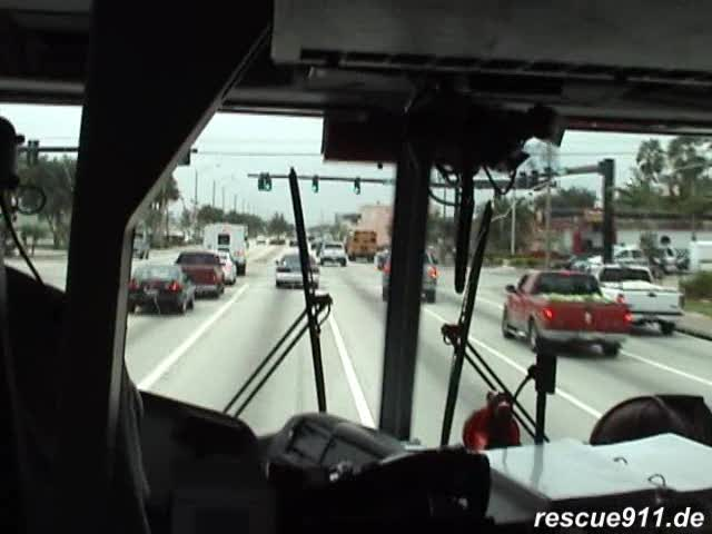 INSIDE VIEW - Engine 2 Fort Lauderdale Fire-Rescue (stream)