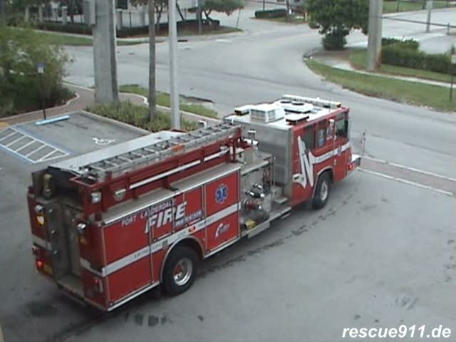 Engine 8 Fort Lauderdale Fire-Rescue (stream)