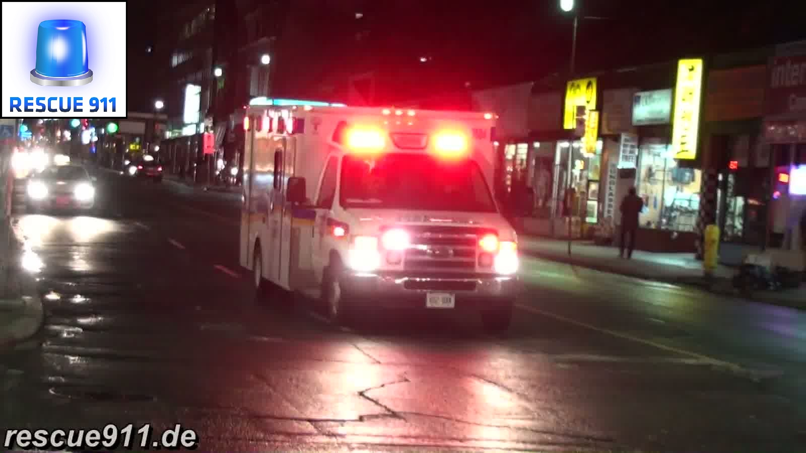 Paramedic Ambulance County of Simcoe (stream)