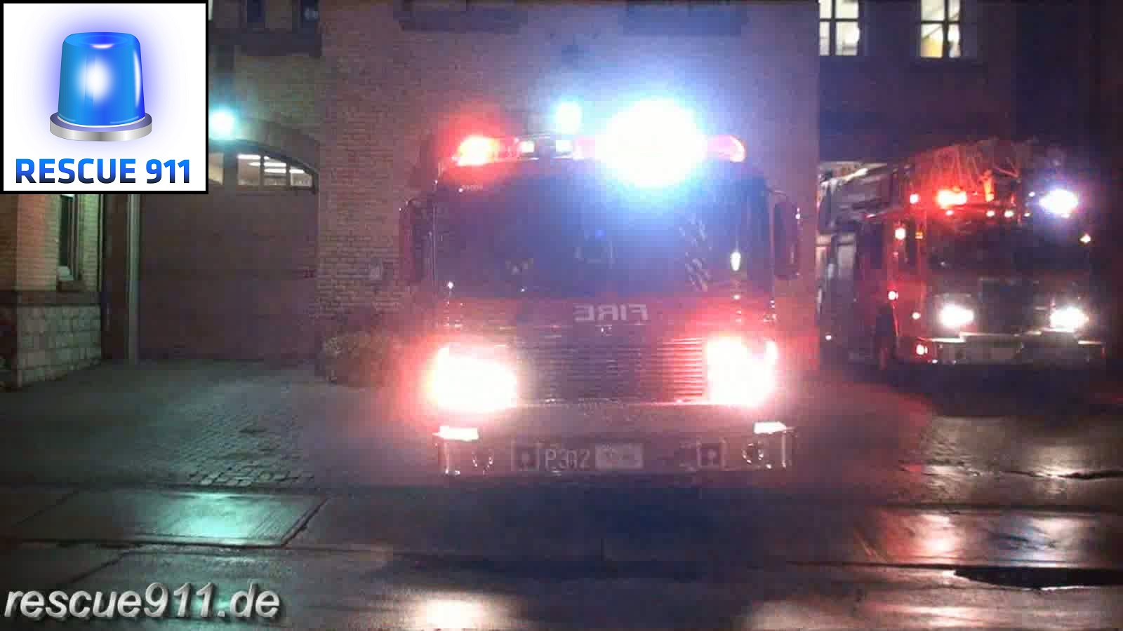 Pump 312 + Aerial 312 + Chief 31 Toronto Fire Services (stream)