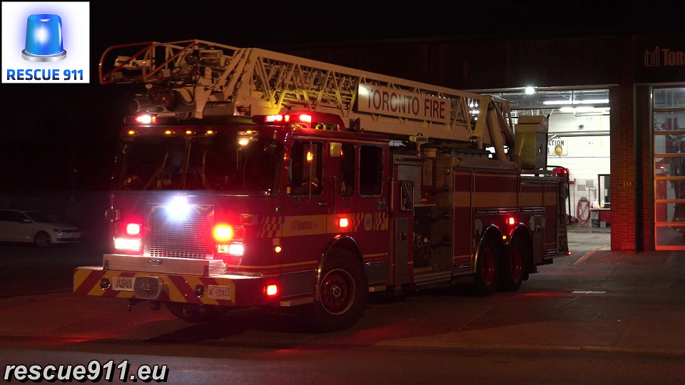 Aerial 341 Toronto Fire Services (stream)