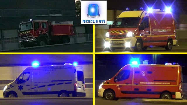 Pompiers + Ambulance Mâcon (compilation) (stream)