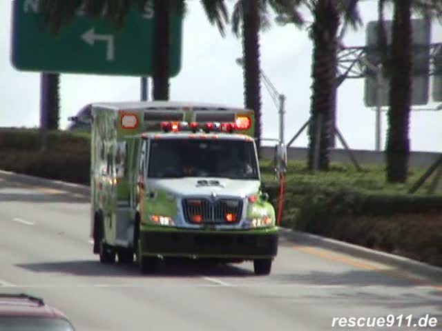 Rescue 63 Miami Dade Fire-Rescue (stream)