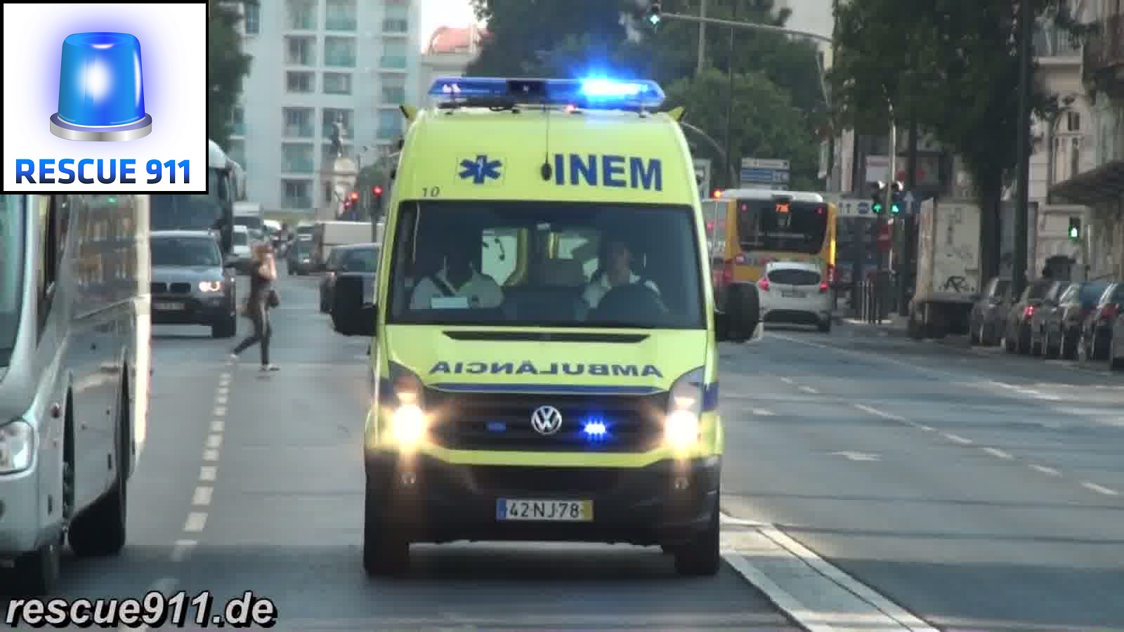 Emergency medical services Lisbon INEM (collection) (stream)