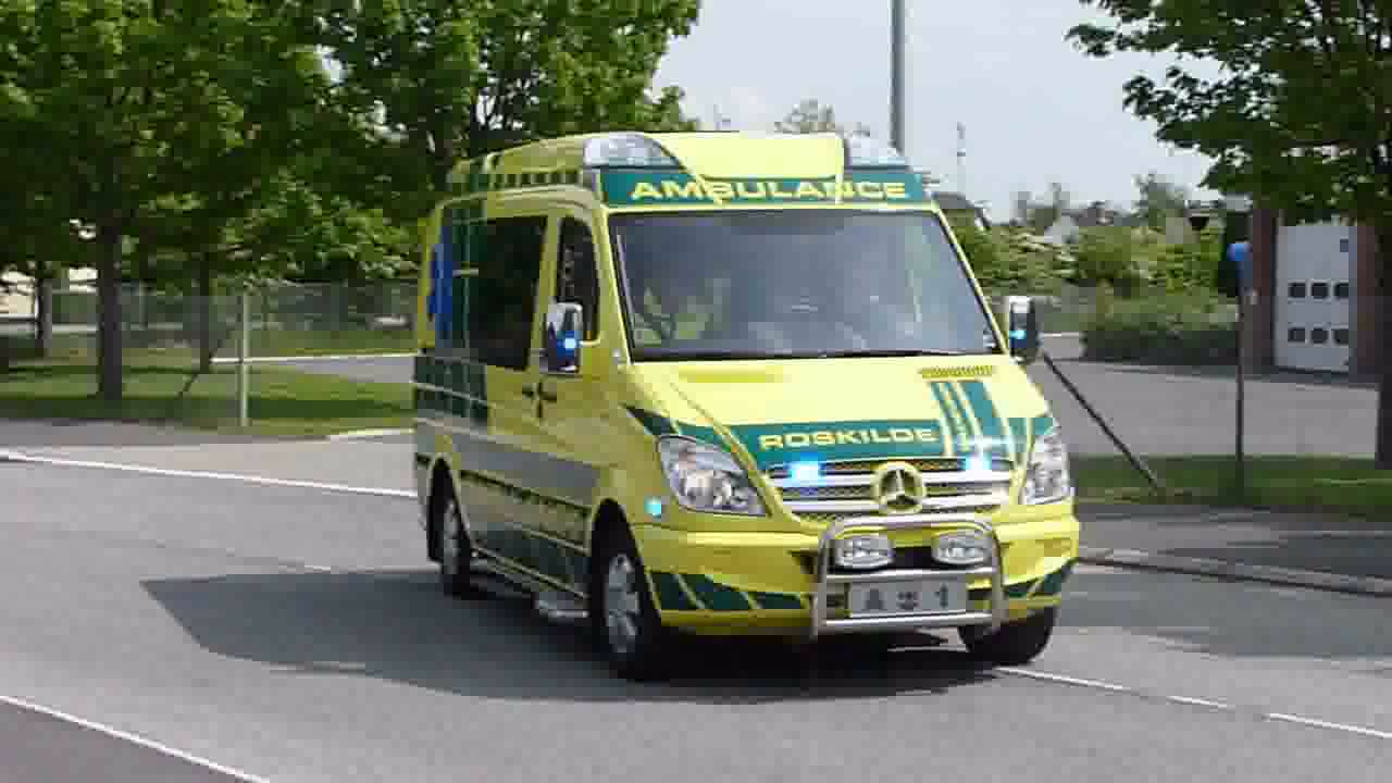 Ambulance a1 Roskilde