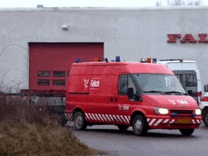 Rescue vehicle 8669 Hvidovre