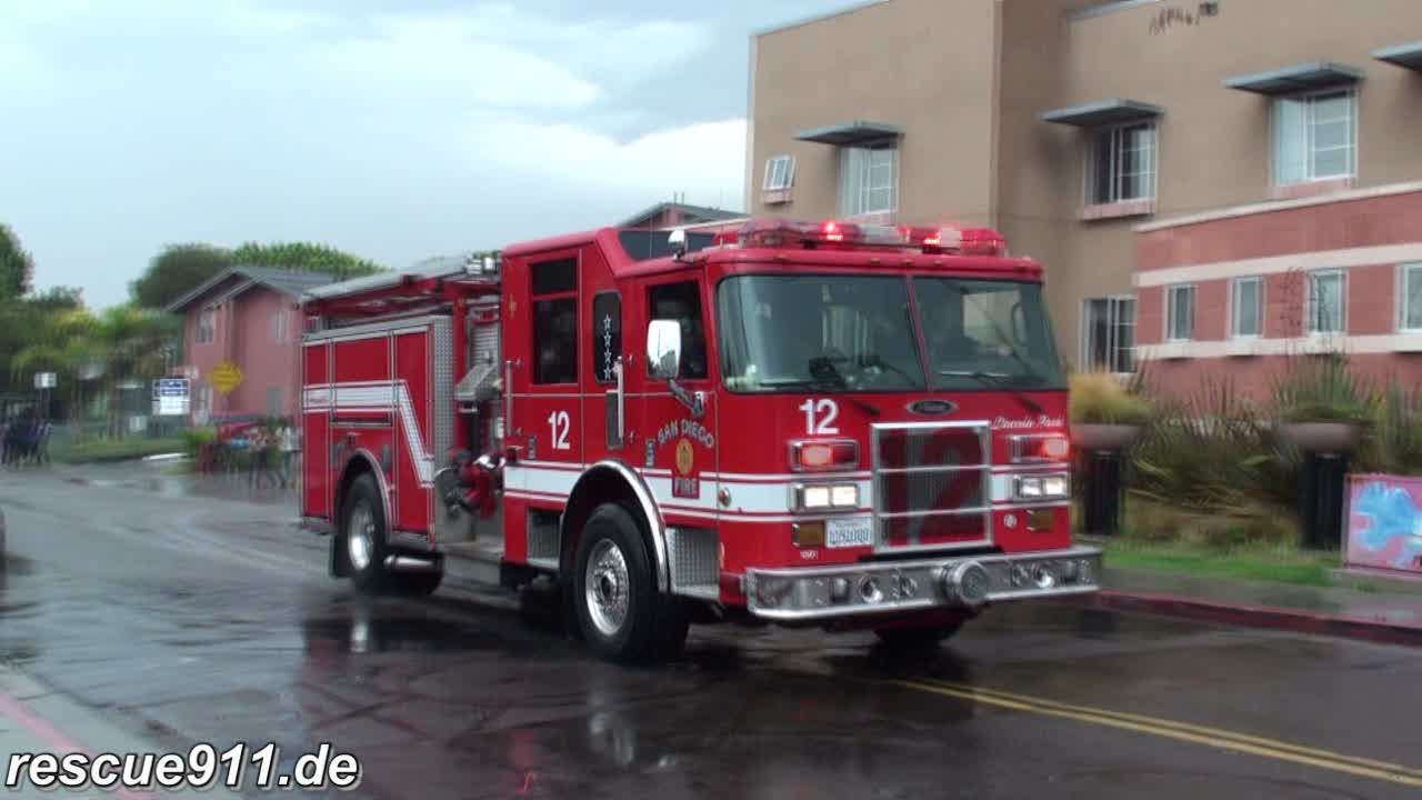 Engine 12 SDFD (stream)