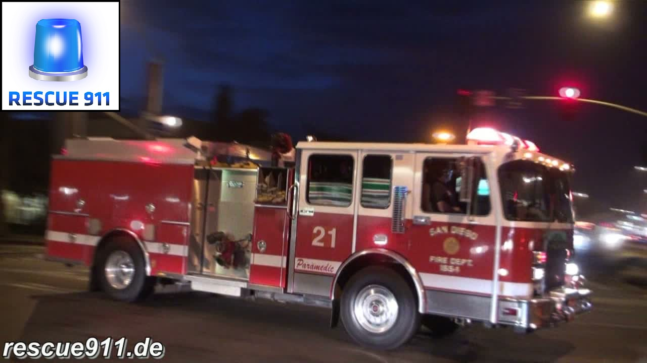 Engine 21 SDFD (stream)