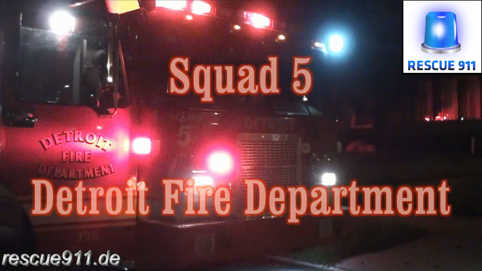 INSIDE - Squad 5 Detroit Fire Department (collection) (stream)