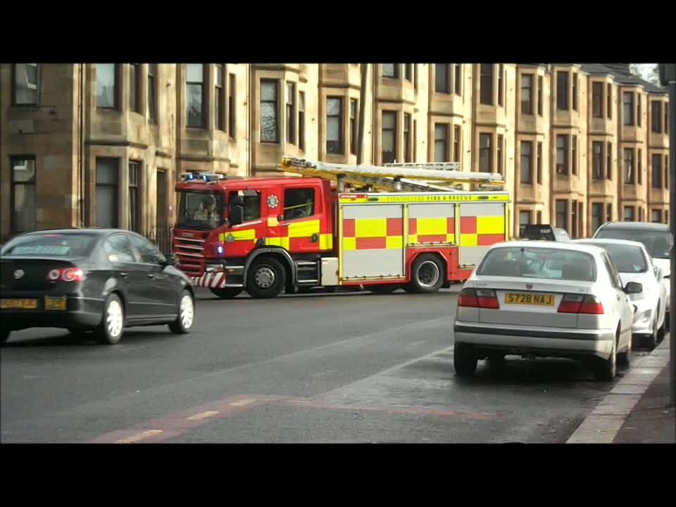 3x Rescue pump Strathclyde Fire & Rescue