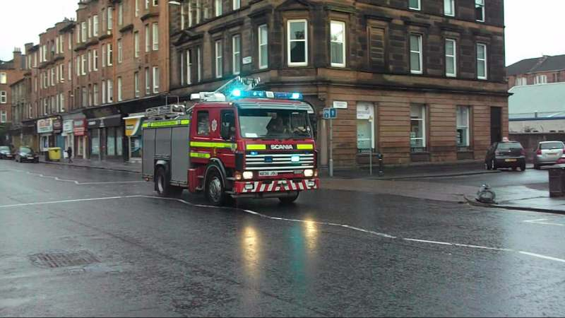 2x Rescue Pump Strathclyde Fire & Rescue Glasgow