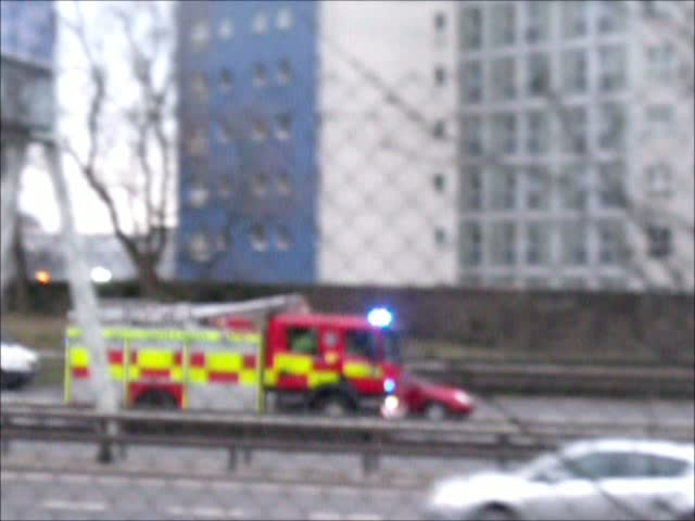 Police + Rescue pump Strathclyde Fire & Rescue