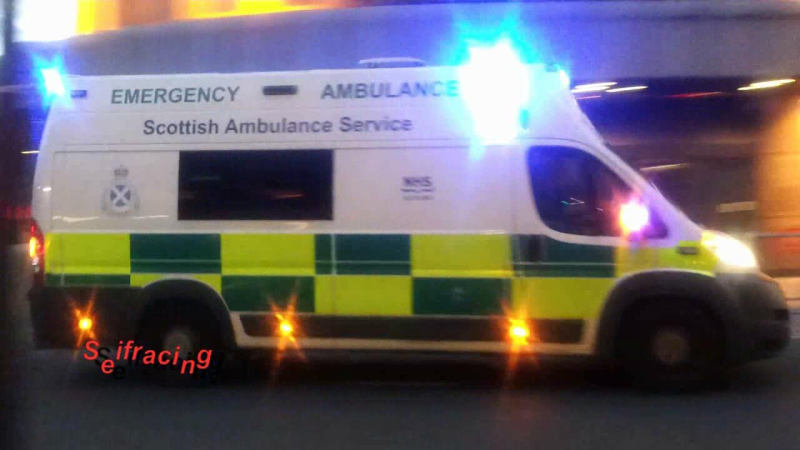Ambulances Scottish Ambulance Services Glasgow (collection)