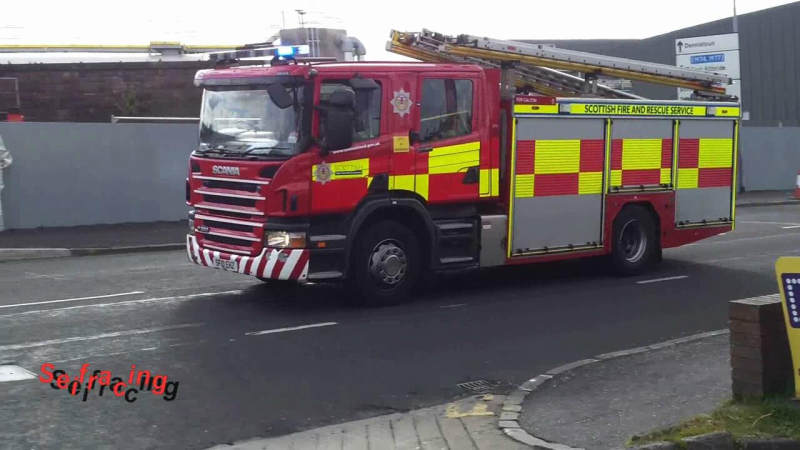 3x Pump Scottish Fire & Rescue Service Glasgow