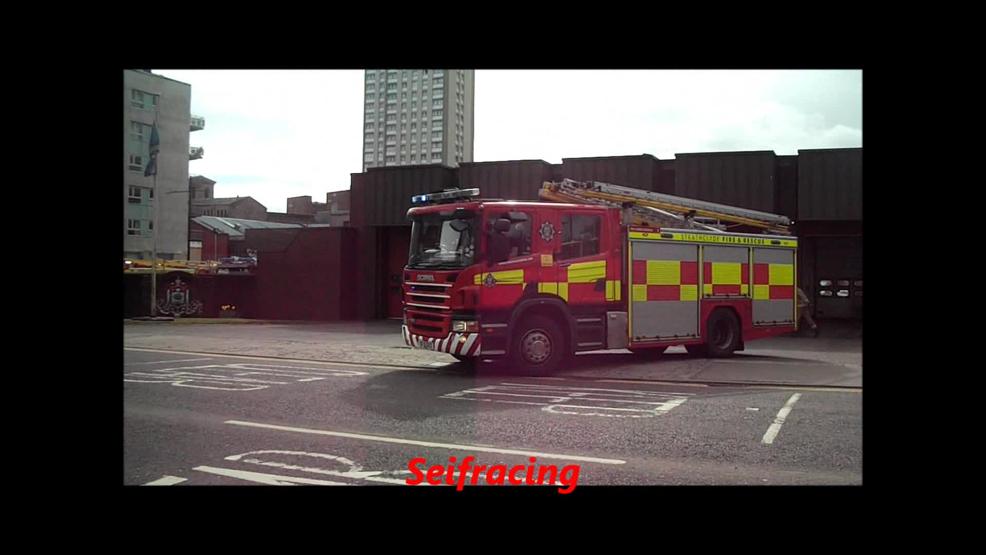 2x Pump Strathclyde Fire & Rescue