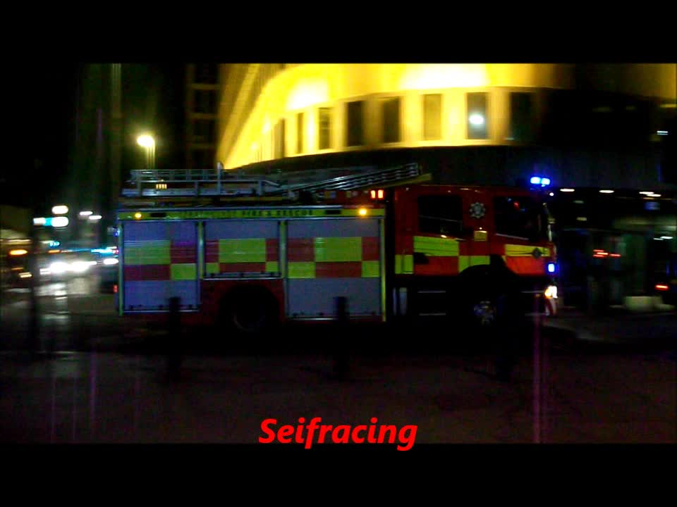 3x Pump Strathclyde Fire & Rescue