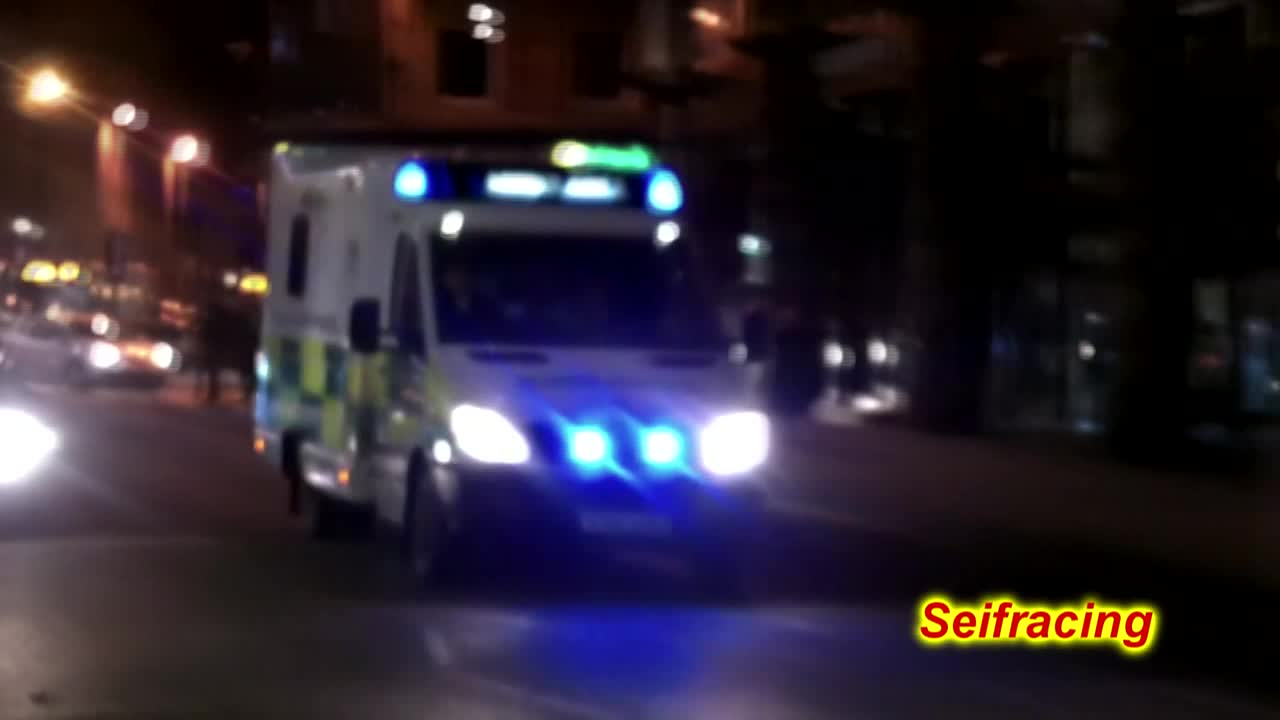 Scottish ambulance services + Strathclyde police