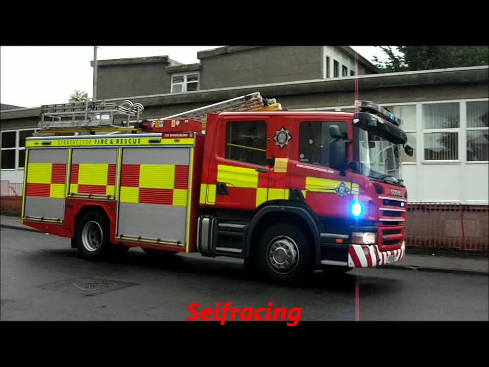 Rescue pump Strathclyde Fire & Rescue