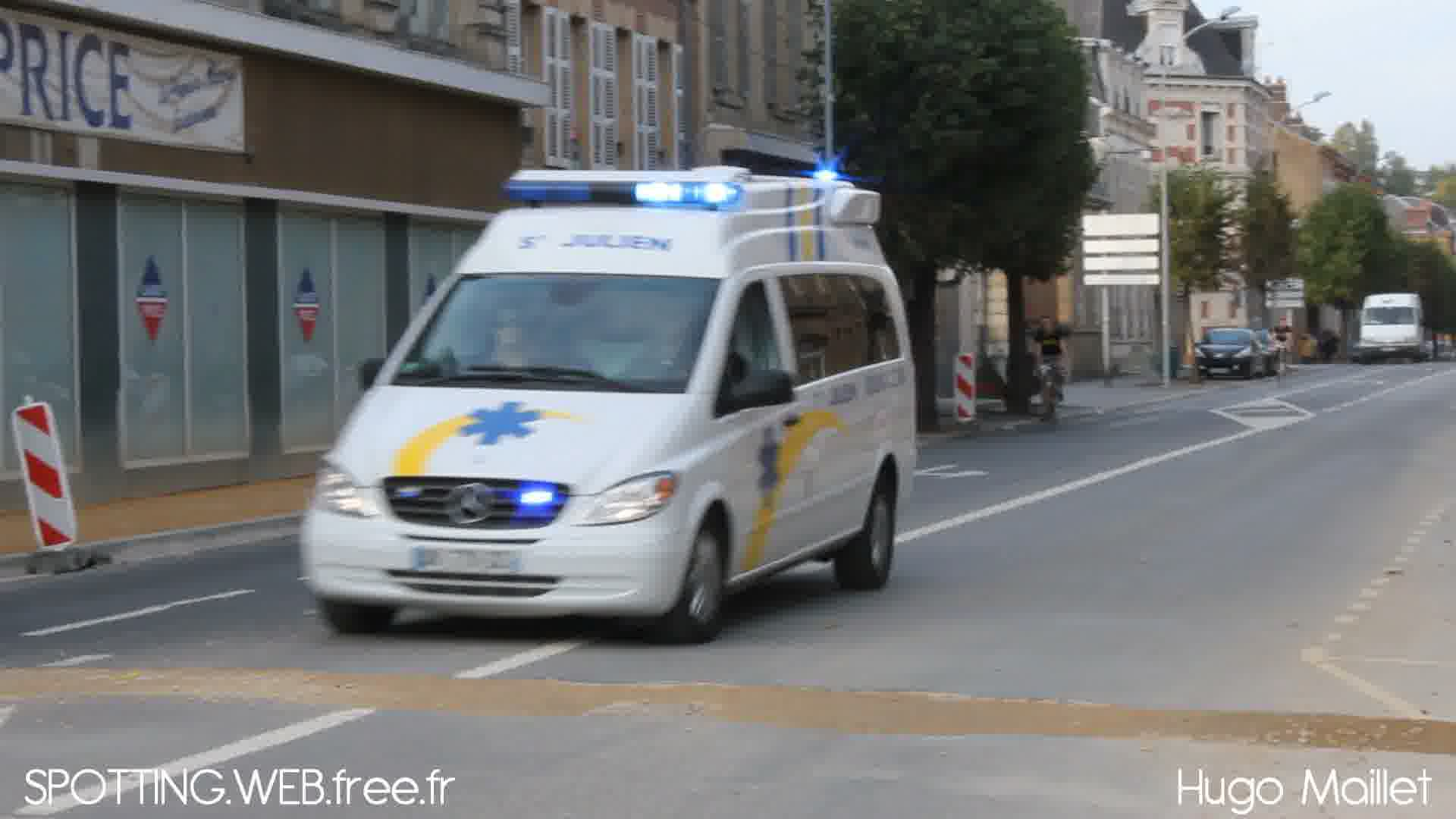 Ambulance privée ATSU 08 St Julien