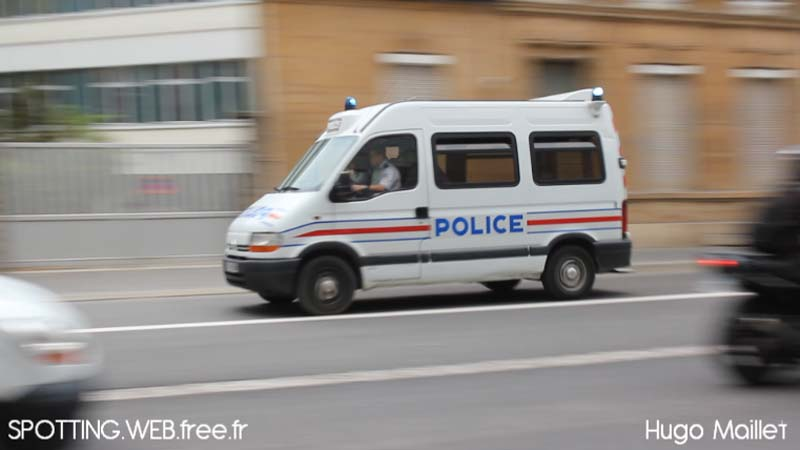 Car PS Police Nationale Charleville