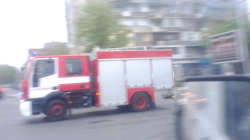 Engine Plovdiv Fire Department