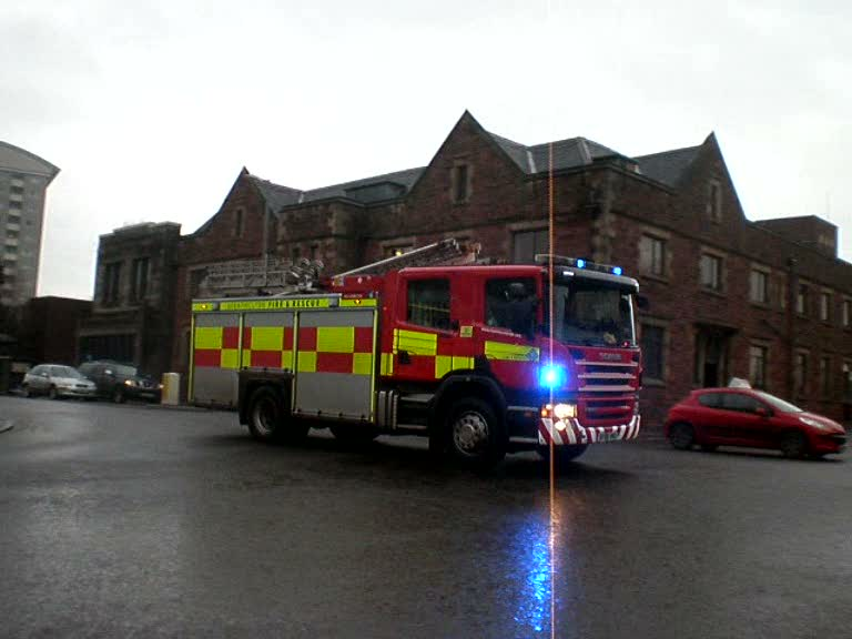 Pump Strathclyde Fire & Rescue