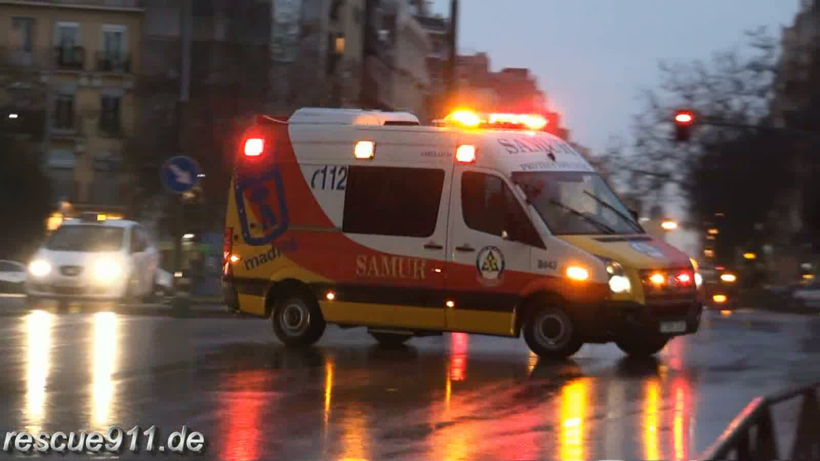 Ambulancia SAMUR Madrid (collection) (stream)