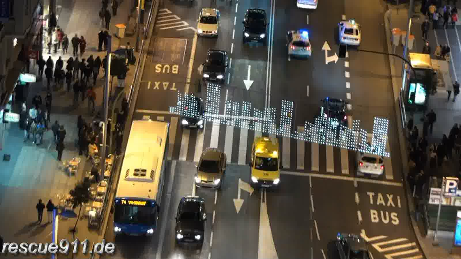 Ambulancia Salud + 2x Policia Municipal Madrid (stream)