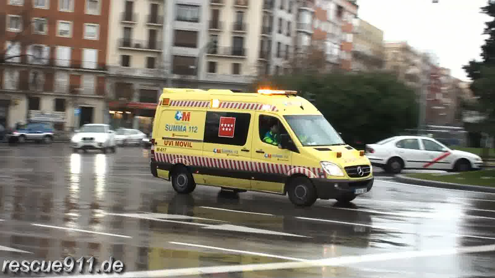Ambulancia SUMMA Madrid (collection) (stream)