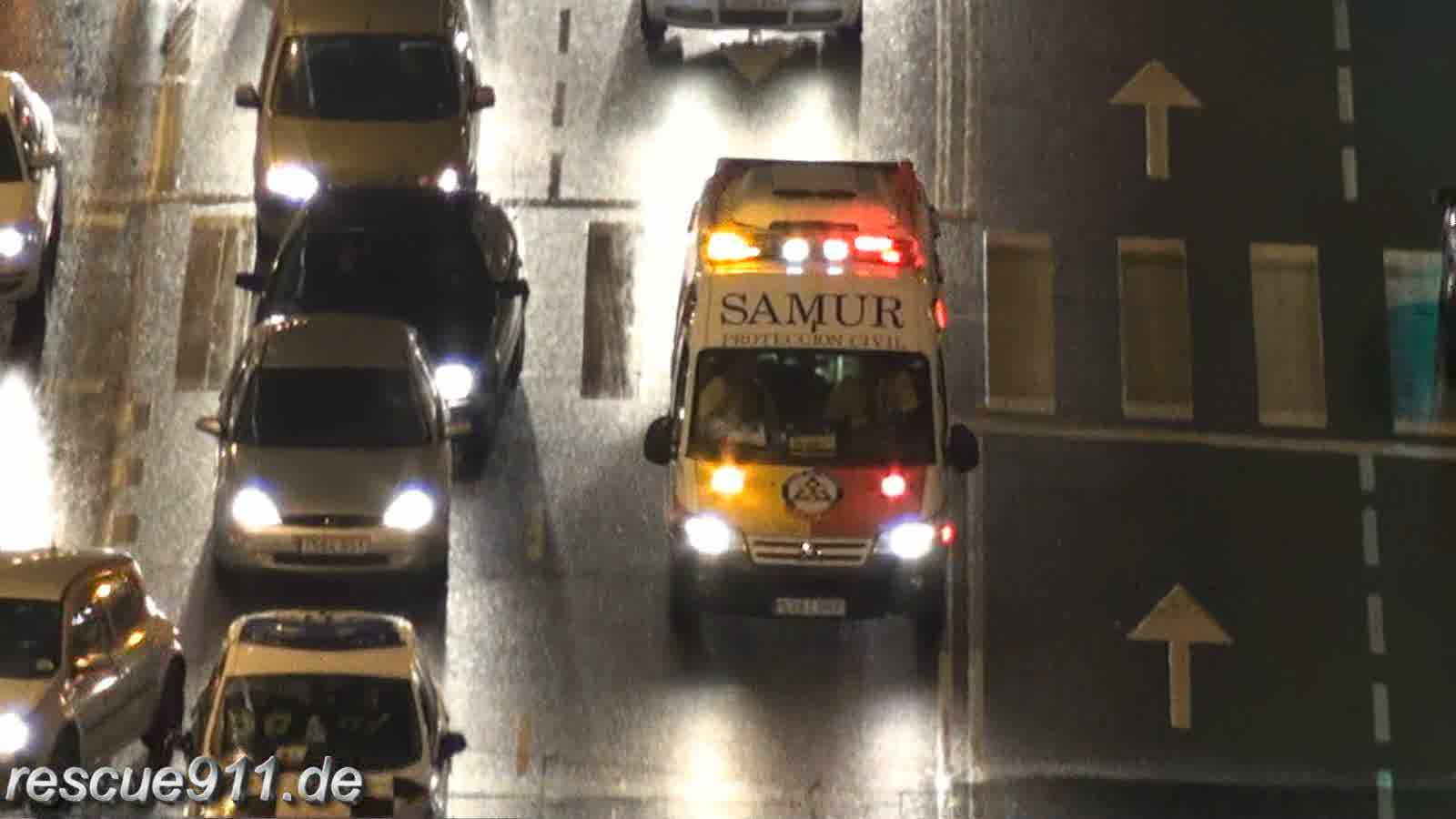 Ambulancia Salud + Ambulancia SAMUR Madrid (stream)