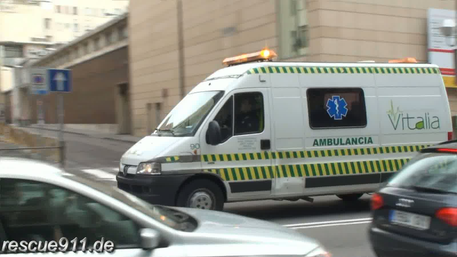 Ambulancia Vitalia Madrid (stream)