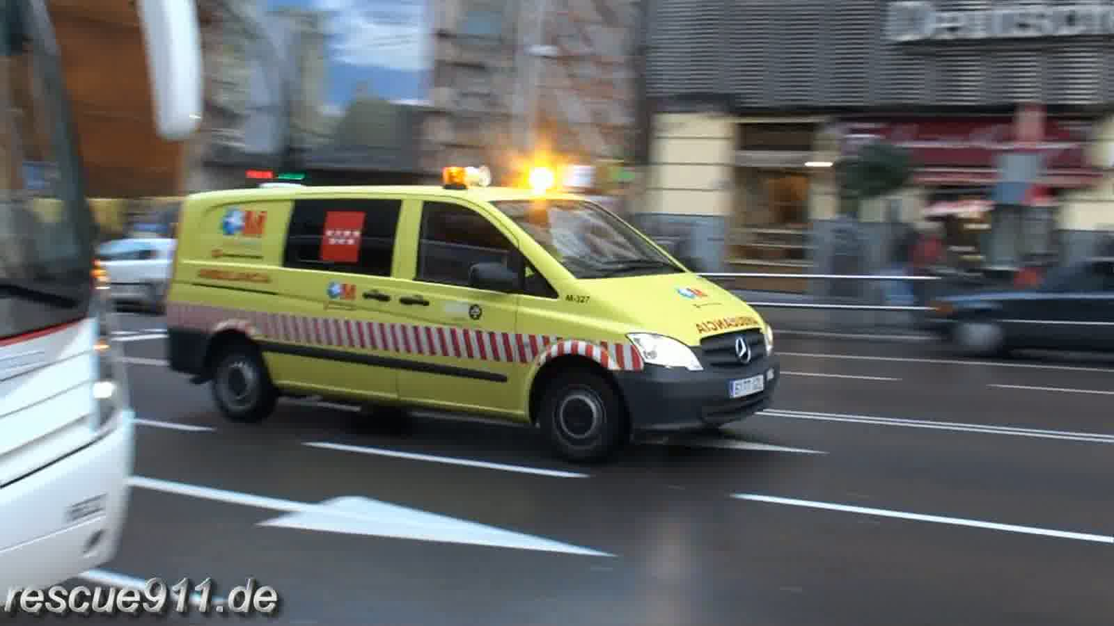 Ambulancia Salud Madrid (collection) (stream)