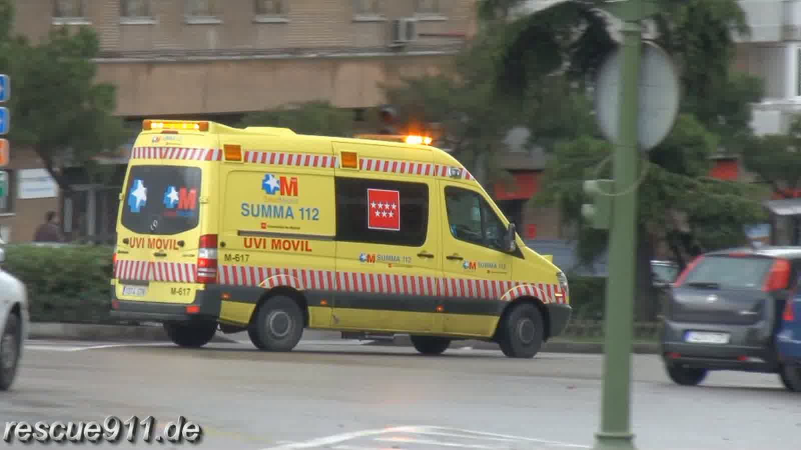 Ambulancia SUMMA 112 Madrid (collection) (stream)