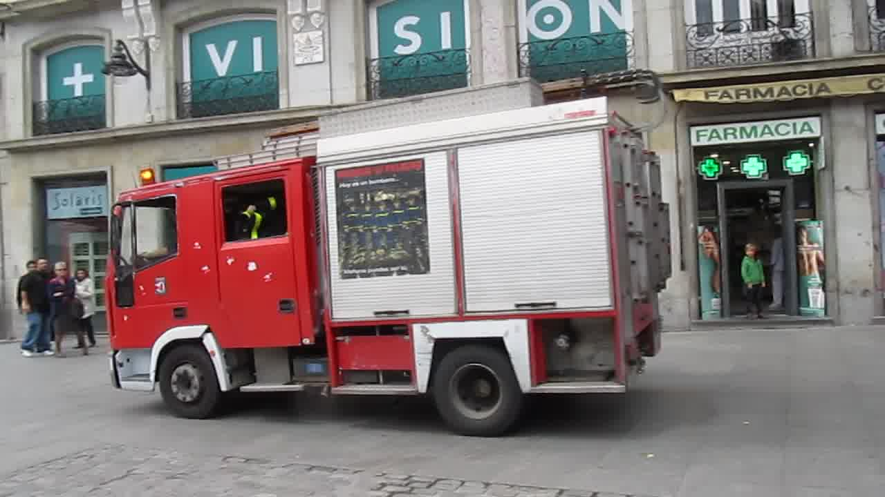 BUP CO-61 Bomberos Madrid