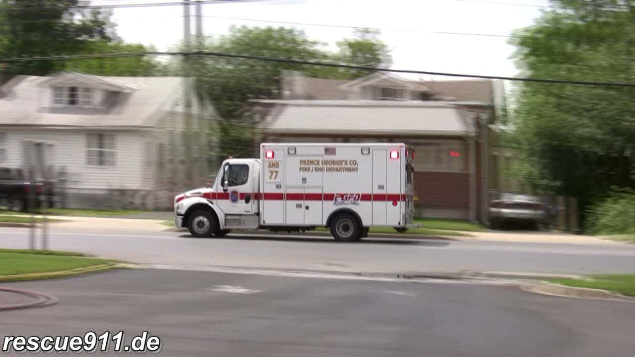 Ambulance 807 RVFD/PGFD (stream)