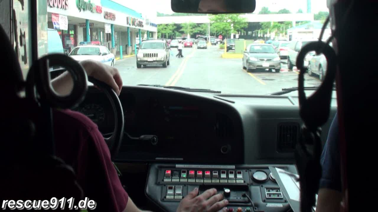 INSIDE VIEW - Ambulance 812 CPVFD/PGFD (stream)