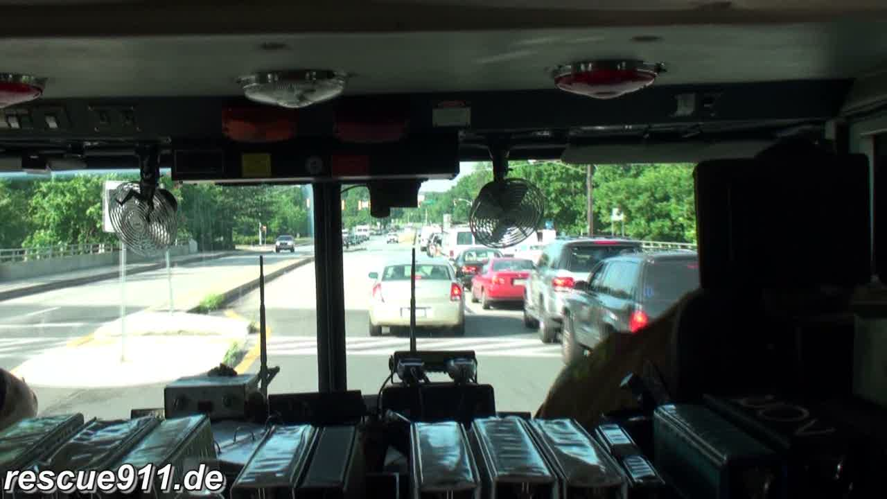 INSIDE VIEW - Truck 812 CPVFD/PGFD (stream)