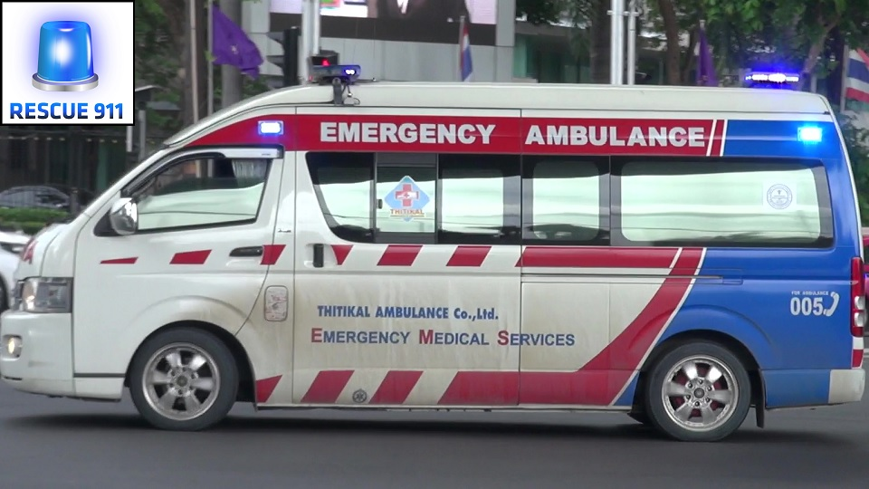 Bangkok Emergency Medical Service + Police (collection) (stream)