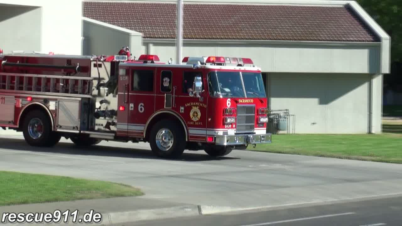 Engine 6 Sacramento Fire department (stream)